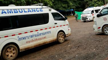 Six boys rescued from flooded Thai cave: Reports
