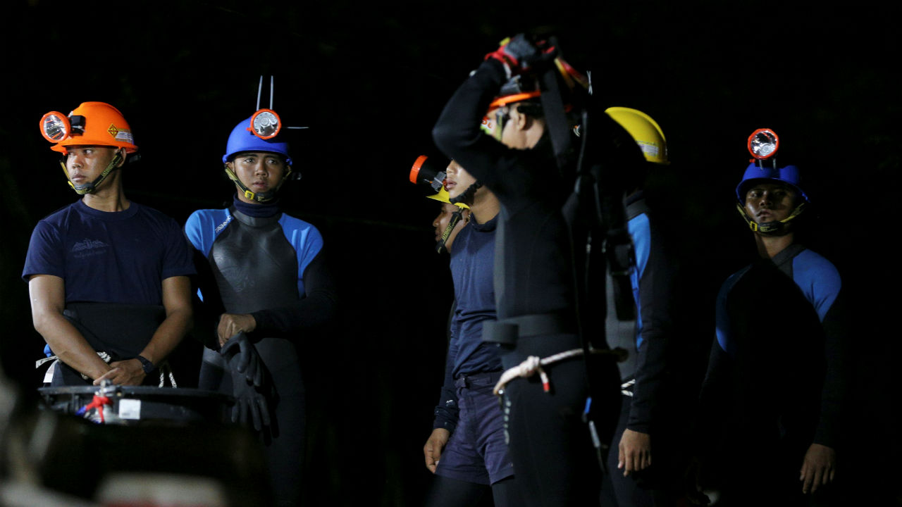 Answer: English diver's reaction to Elon Musk's offer of help in the Thai cave expedition (Image: Reuters)