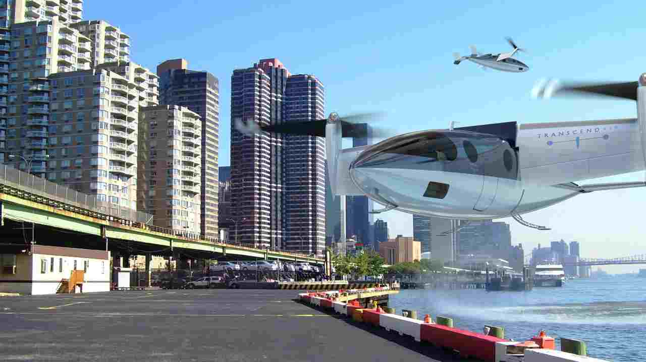 The company promises to cover the distance between New York City and Boston in mere 36 minutes costing $283 and the flight from Los Angeles to San Francisco in under an hour which will cost $315.