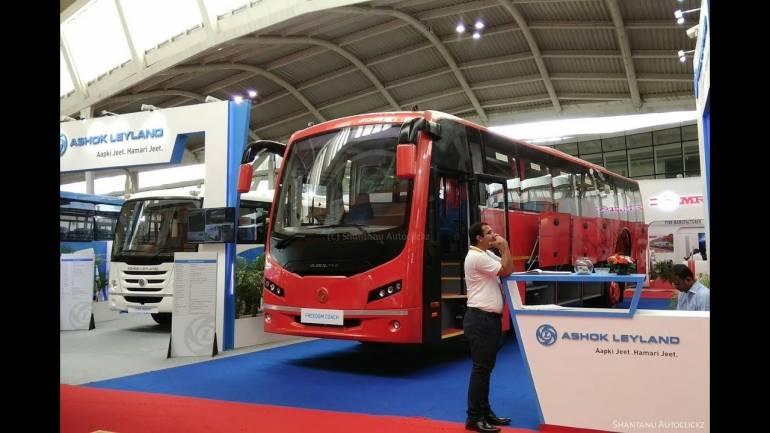 Ashok Leyland share price dips 5% on massive slump in Q2 profit - Moneycontrol.com thumbnail
