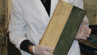 Three rare books found covered in poison in a European university library