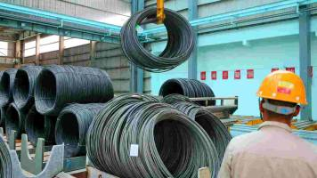 Factory output shows flat growth at 4.5% in September