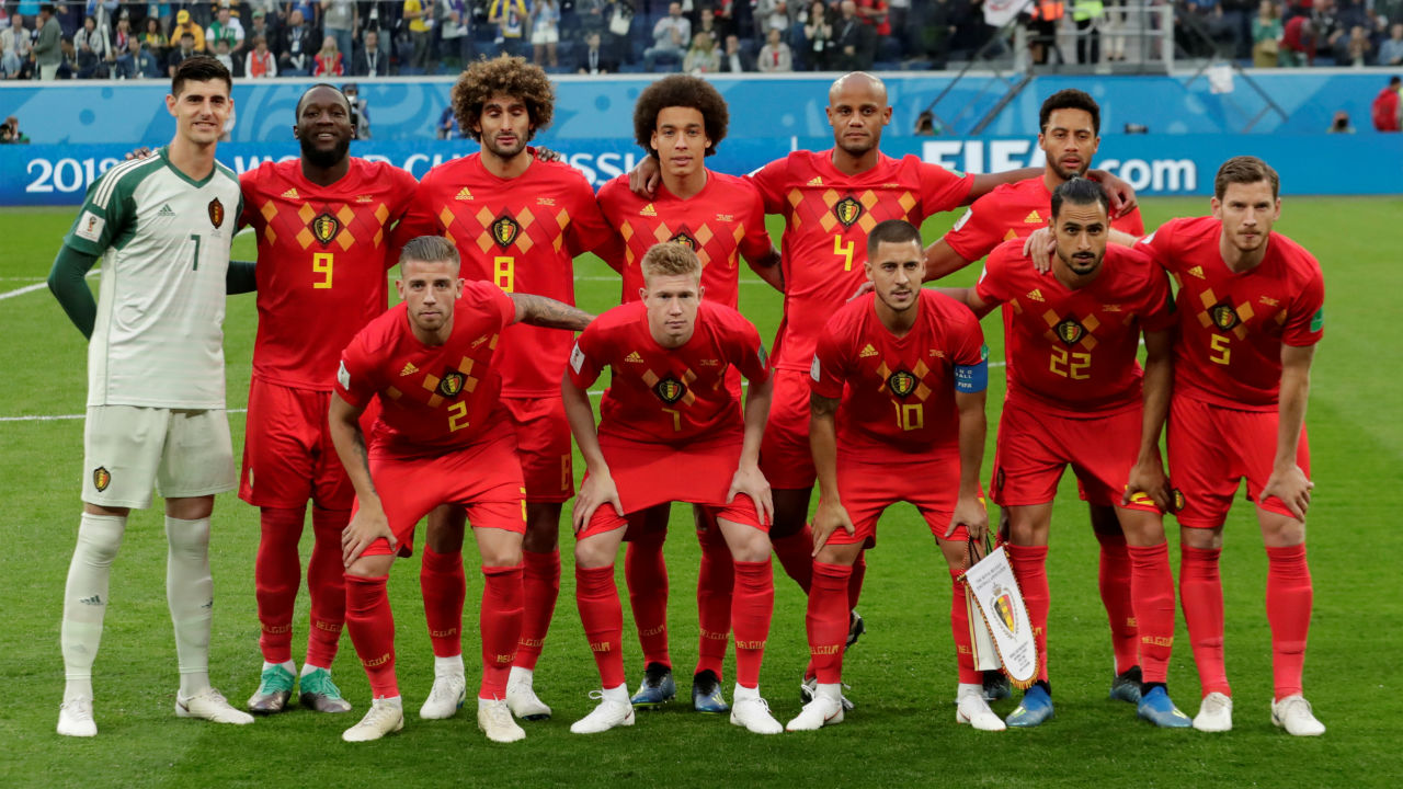 Belgium starting XI | Belgium were forced to make one change to their quarter-final lineup. With Thomas Meunier suspended, Mousa Dembele came in to replace the full-back.