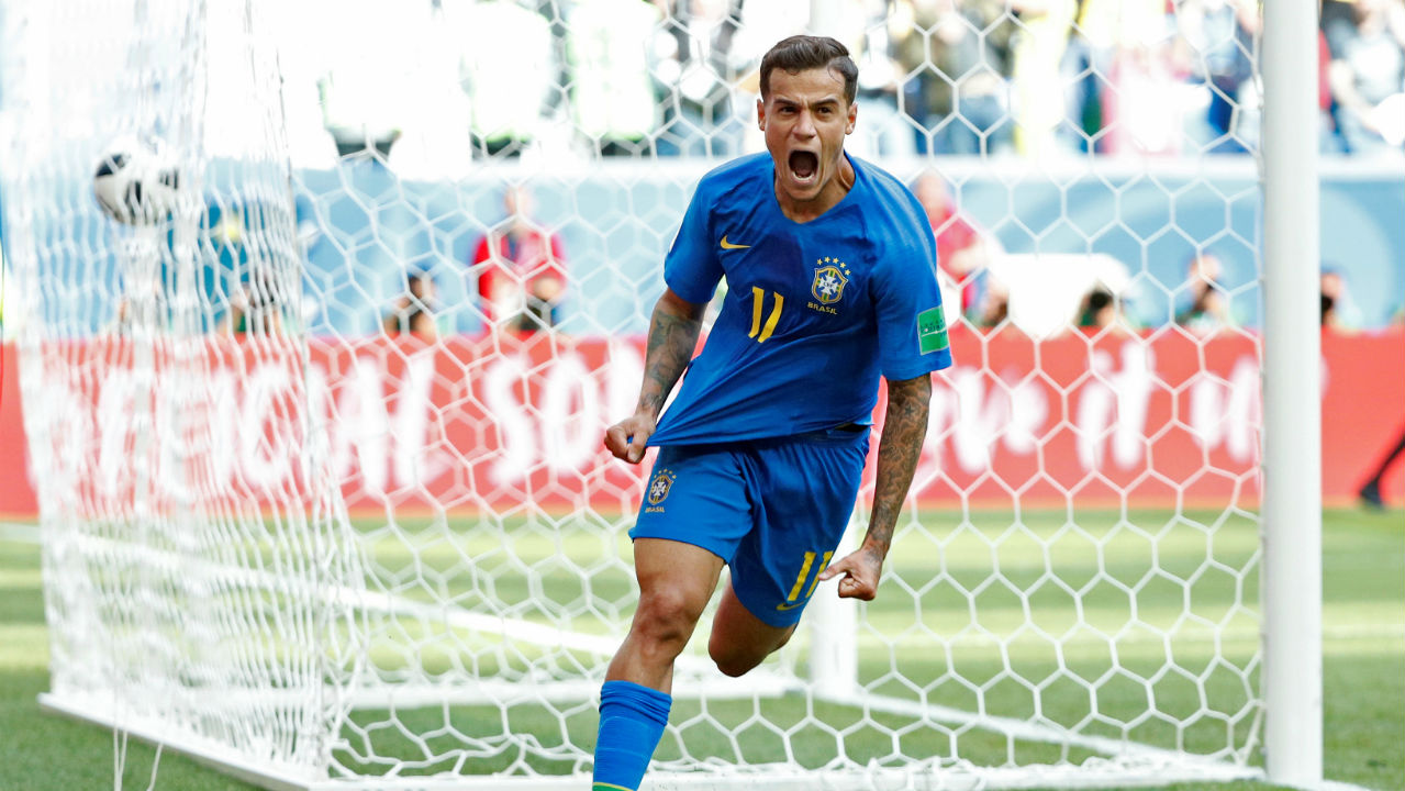 Philippe Coutinho | In a team with no dearth of talent in midfield, Coutinho has emerged as the squad's star in the group stages. The Barcelona superstar has scored twice in Brazil's three games so far and also picked up an assist. His goal against Switzerland was simply sensational and the Selecao will be hoping the silky midfielder carries his great form into the last 16. (Image - Reuters)