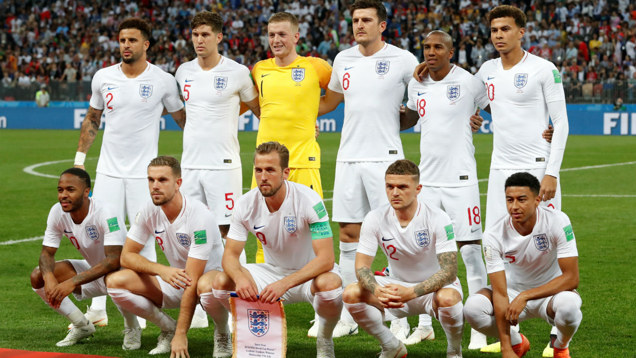 England starting XI | Gareth Southgate named an unchanged starting 11 from their quarter-final win over Sweden. (Image - Reuters)