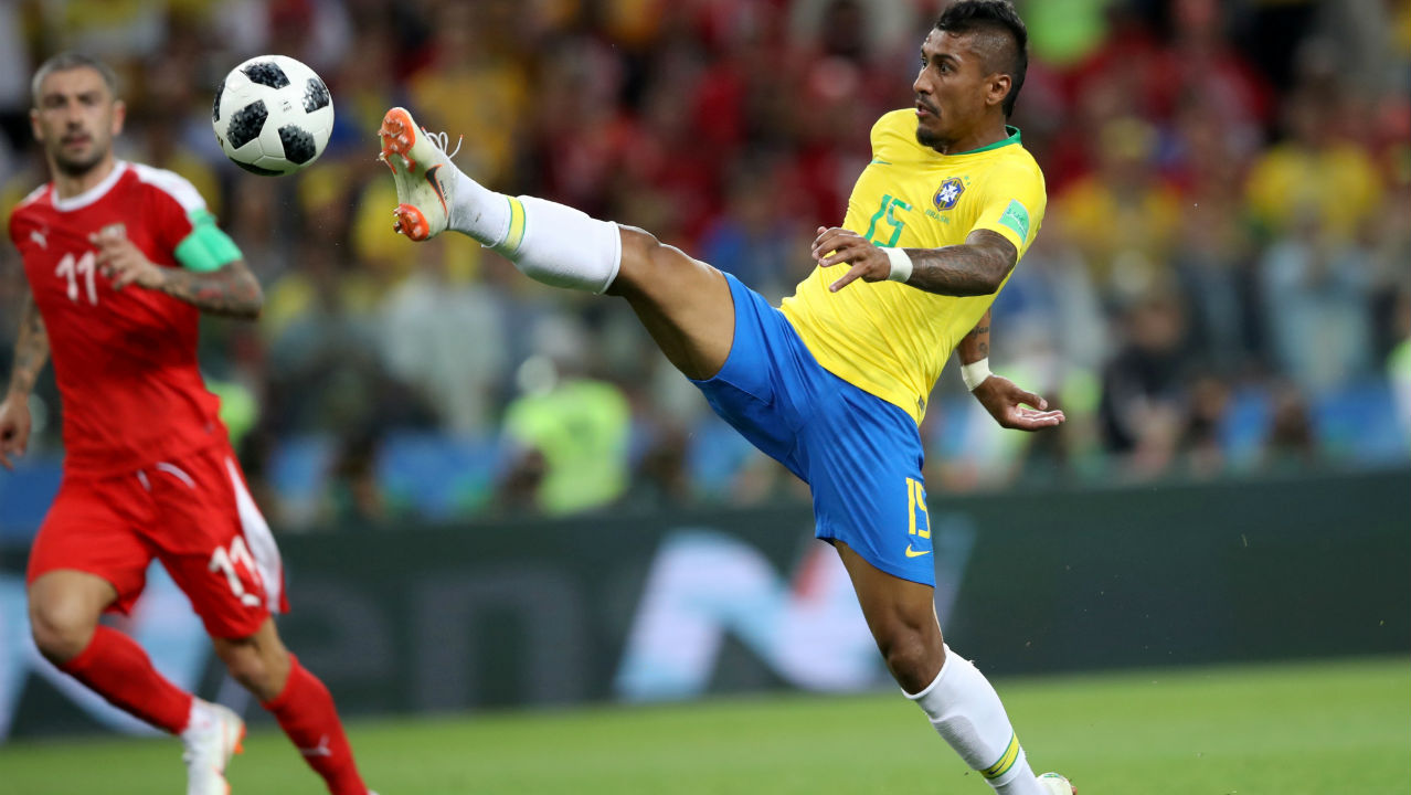 Neymar gives Brazil a 1-0 lead against Mexico