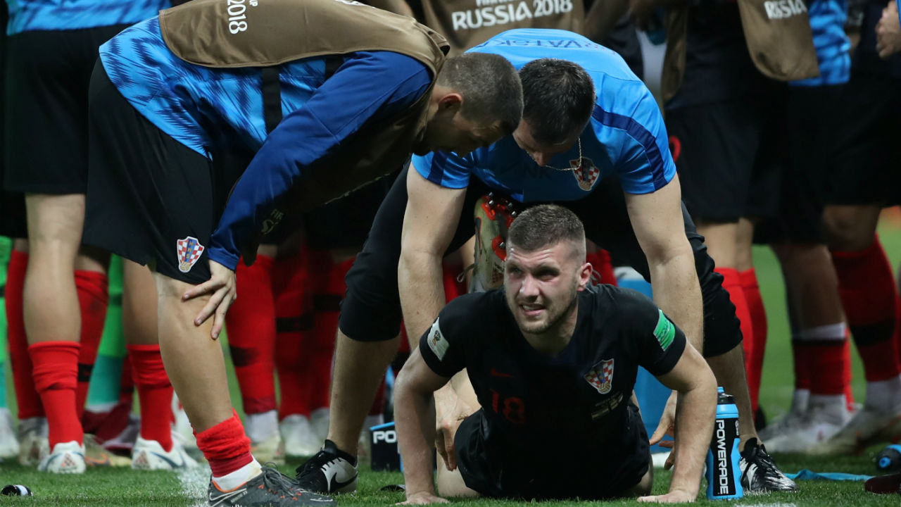 Extra Time | With the scores still level after 90 minutes the game was forced into extra-time. This was Croatia's third straight game to go into extra-time. (Image - Reuters)