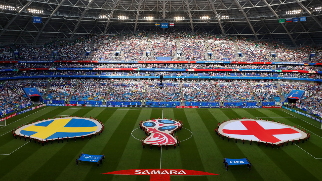 General view inside the stadium before the match. (Image – Reuters)