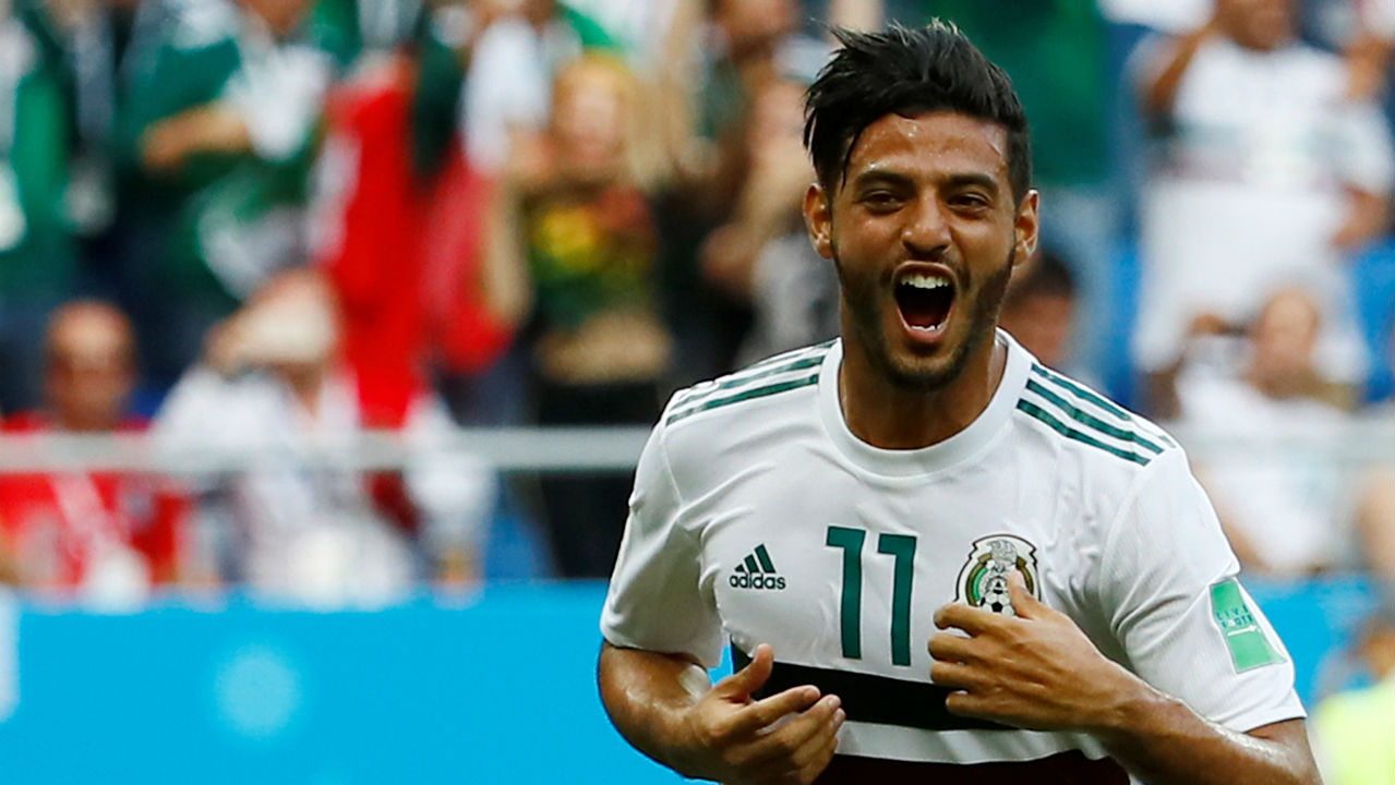 Carlos Vela | The 29-year-old was a member of the Mexican team that won the U-17 World Cup in 2005. For a long time he was touted as one of the world's best young strikers but never seemed to fulfil his potential. Finally he is coming into his own and was brilliant in the 1-0 against Germany. He got a goal form the penalty spot against South Korea and has been combining brilliantly with Lozano and Hernandez to wreak havoc in the oppositions half. (Image - Reuters)