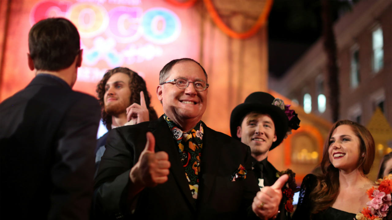 Q9. John Lasseter began his career as an animator with The Walt Disney Company. After being fired from Disney for promoting computer animation, he joined Lucasfilm, where he worked on the then-groundbreaking use of CGI animation. Which iconic studio came out of the sale of his division to Steve Jobs? (Image: Reuters)