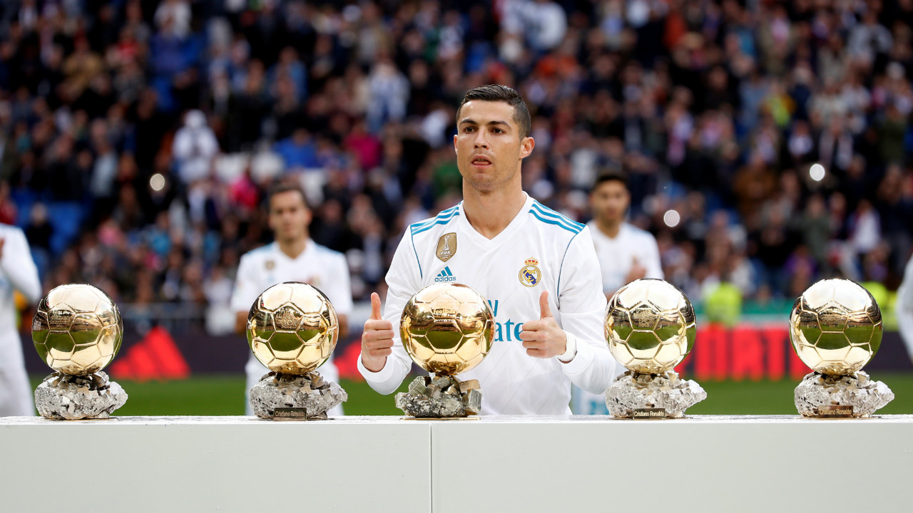 Most Ballon d'Or awards and FIFA best player awards: 5 (joint with Lionel Messi) | While this is one accolade Ronaldo currently shares with Lionel Messi, his new club Juventus will be hoping their 100 million Euro asset quickly surpasses his long term rival with stellar performances in the seasons to come.