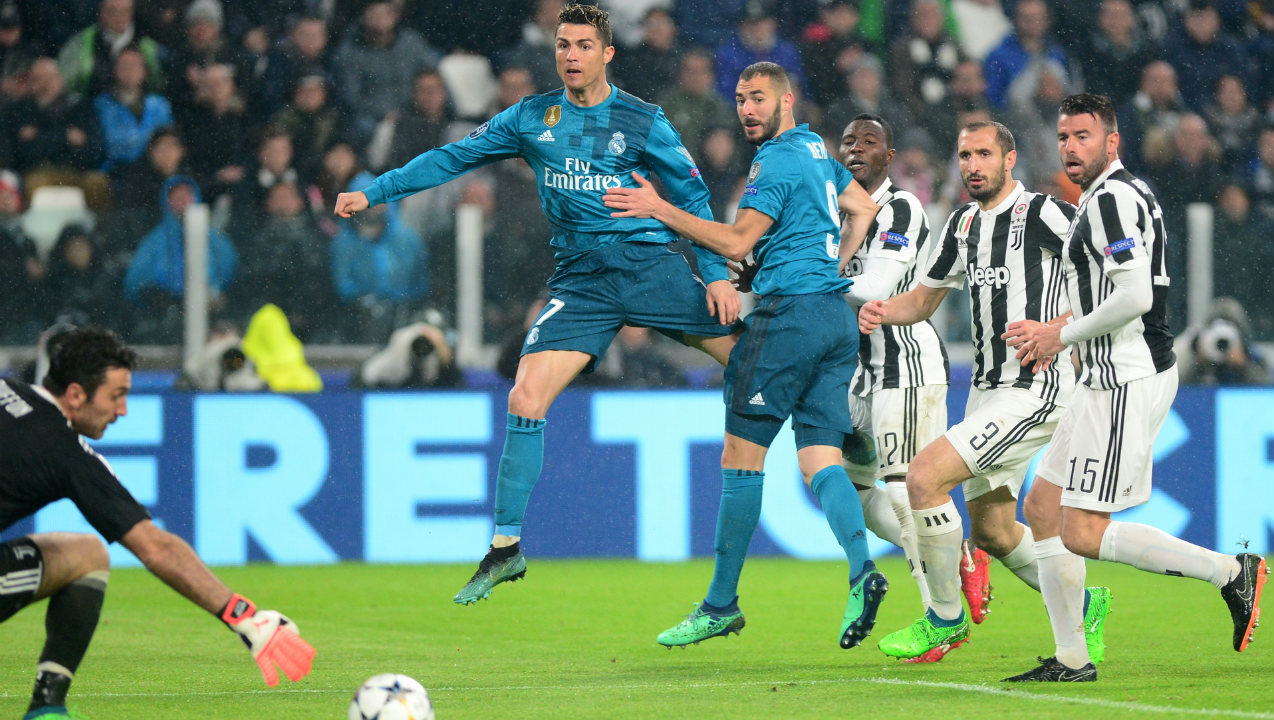 Only player to score in 11 straight UEFA Champions League games | Once again Juventus feature's prominently in Ronaldo's record with his 11 match goal-scoring streak starting in the final against the Old Lady of Turin in 2017 and his last goal coming against them in the second leg of the quarter-finals in 2018. Ronaldo's streak finally came to an end when he failed to find the net in the first leg of the semi-finals against Bayern Munich at the Allianz Arena in 2018.