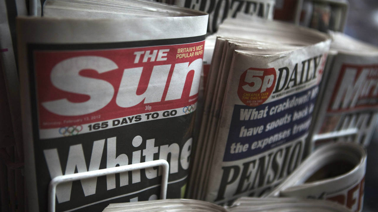 Answer: The Sun (Image: Reuters)