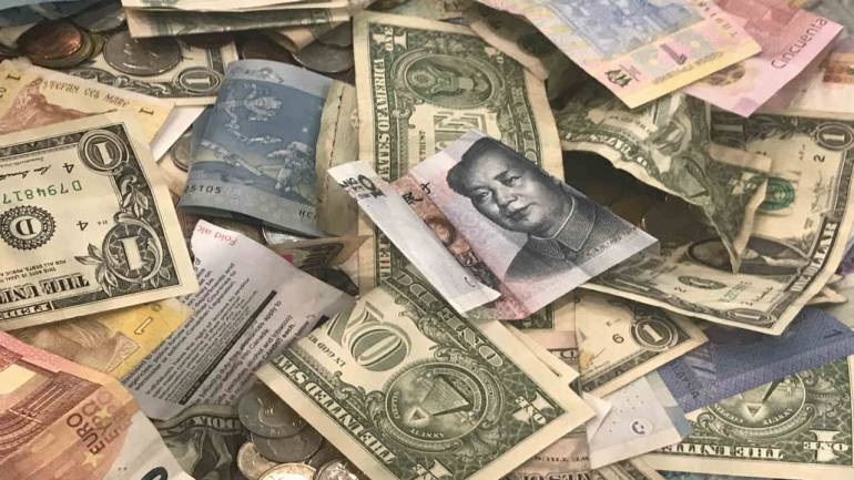 China Printing Foreign Currencies on Massive Scale, Including India