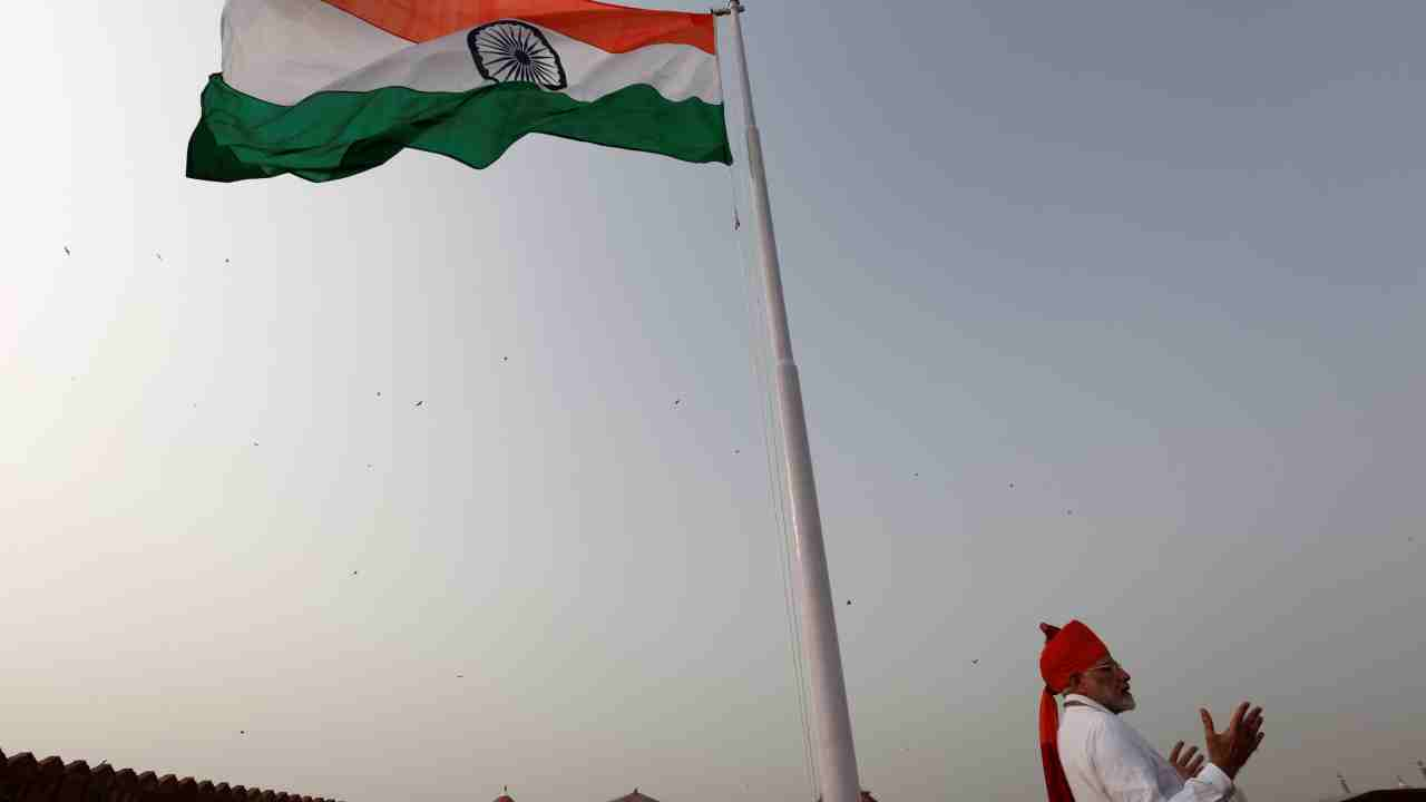 In pics! Independence Day celebrations at the Red Fort