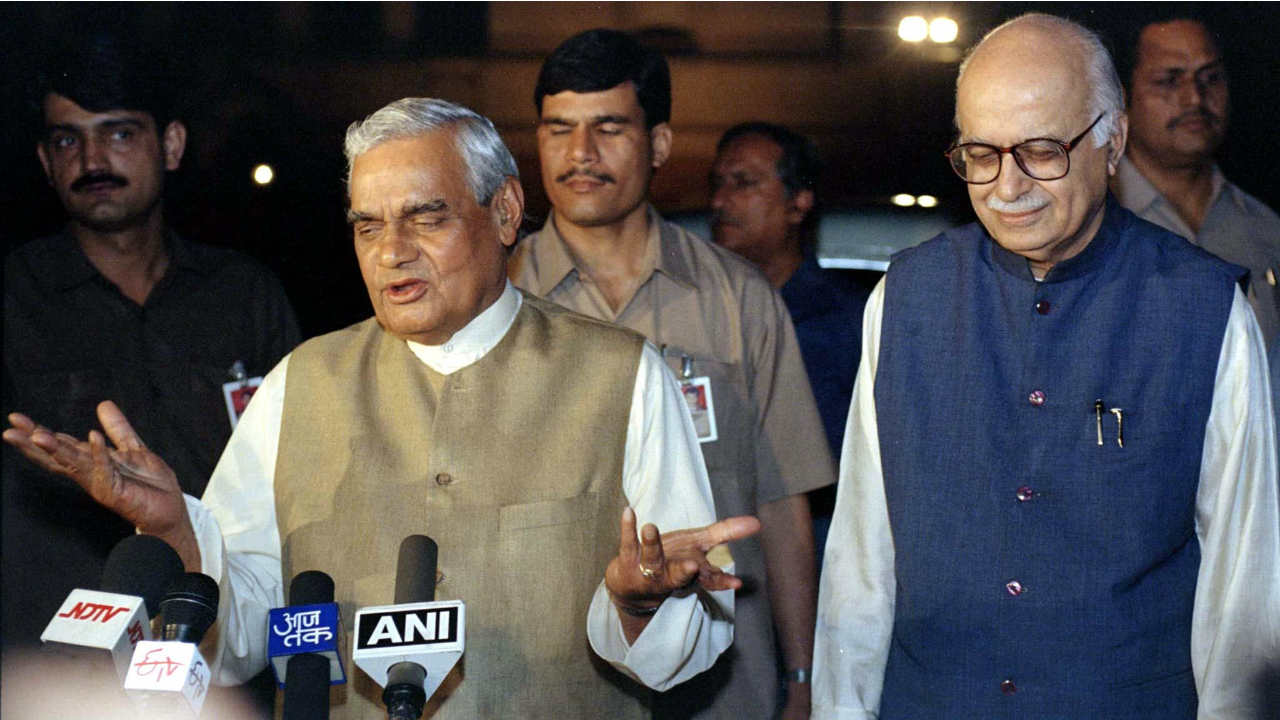 "October 2002 | ""People who ask us when we will hold talks with Pakistan are perhaps not aware that over the last 55 years, every initiative for a dialogue with Pakistan has invariably come from India."" Vajpayee had told this to a newspaper in an interview. (Image: Reuters)"