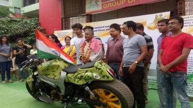 Amar Jawan: An 800cc bike dedicated to the Indian Armed Forces