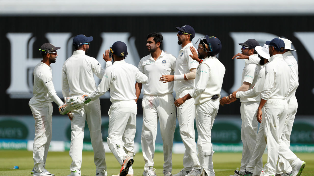 Ravichandran Ashwin took three wickets in England's second innings to dismantle the top order. He got the wicket of Alastair Cook in similar fashion in both the innings and finished with seven wickets in the match. (Image: Reuters)