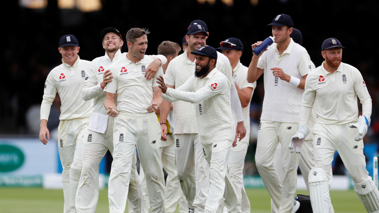 Chris Woakes who had earlier taken the wicket of Hardik Pandya later claimed the wicket of Ishant Sharma to end India's innings and hand England a thumping win. (Image-Reuters)