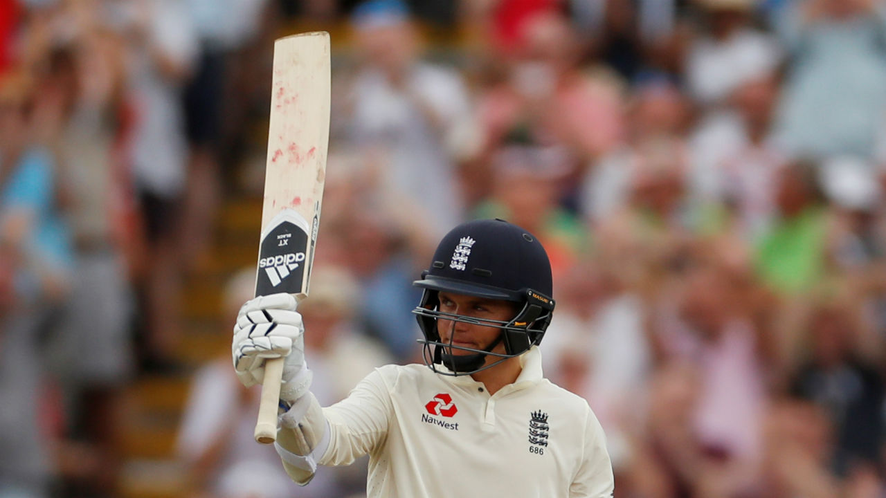 Sam Curran was the unlikely hero for England. He stitched a vital 48-run partnership with Adil Rashid, playing a brilliant counter-attacking innings. He scored his first Test fifty and finished with 63 from 65 balls.  (Image: Reuters)
