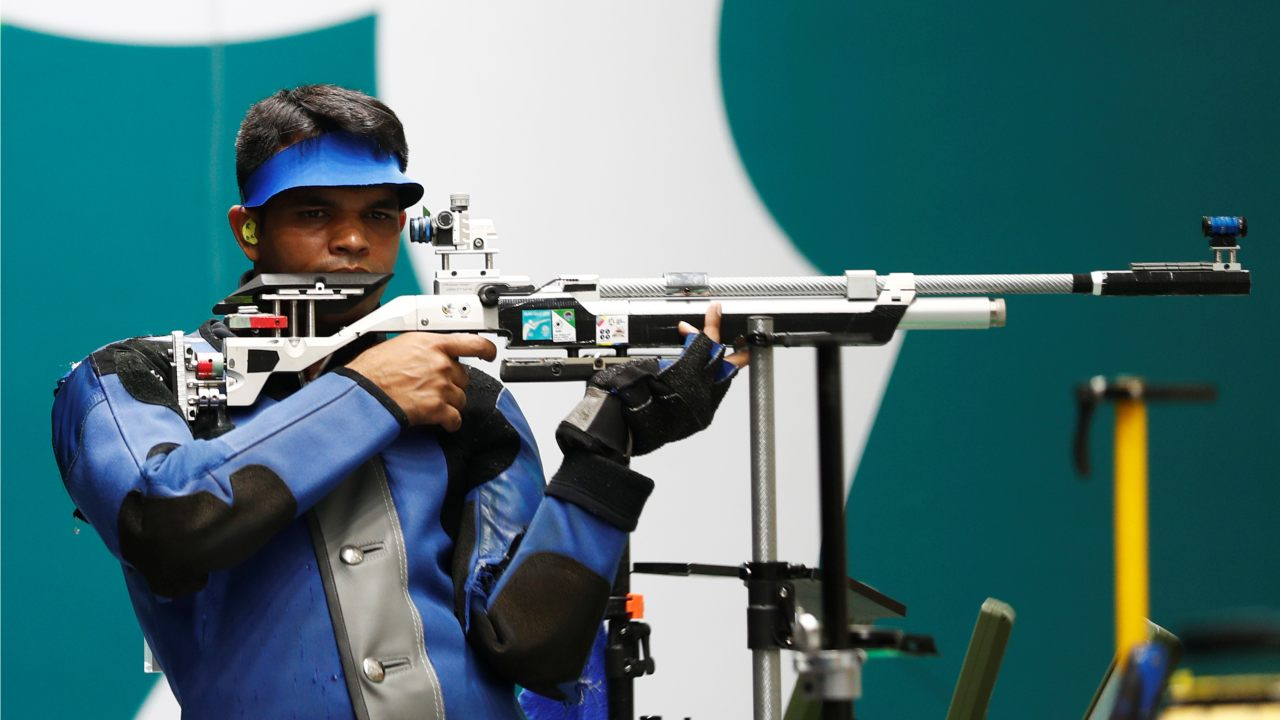Deepak Kumar | Men's 10m Air Rifle | Silver (Image: Reuters)
