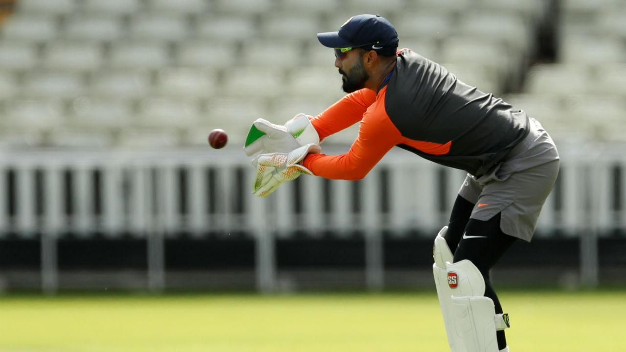 Dinesh Karthik | Dinesh Karthik starts as India's wicket keeper. He is playing a Test match for India after eons (Image: Reuters)