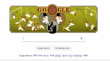 Google doodle of the day: Who was Ebenezer Cobb Morley?
