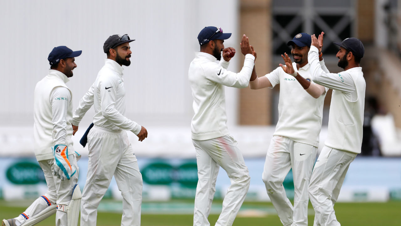 Bumrah ended the England innings by claiming the wicket of Jos Buttler who refused to go down without a fight. He added 39 runs from 32 balls in a mini-assault before finding Shardul Thakur in the deep. England's innings folded for a paltry score of 161 as they lost all 10 wickets in a single session, handing India a substantial lead of 168 runs. (Image - Reuters)
