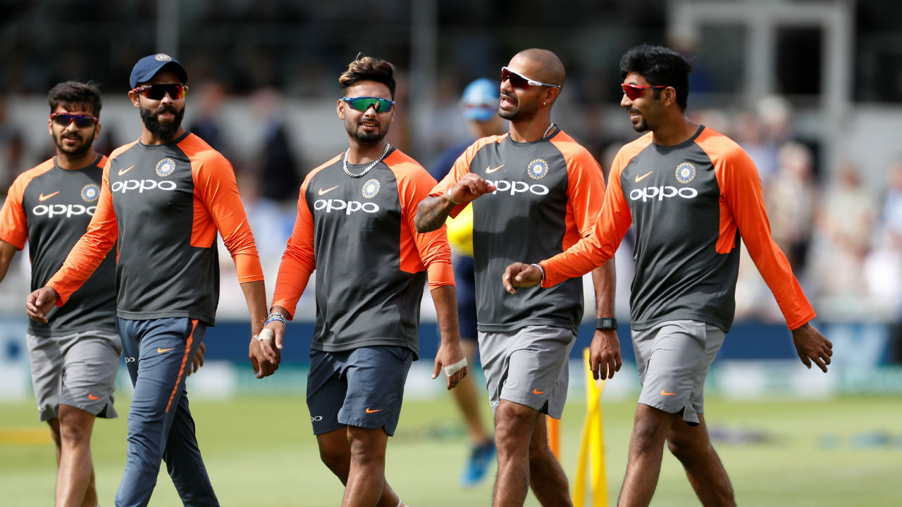 Indian team's think tank made as many as three changes in the playing XI. Attacking wicket-keeper batsman Rishab Pant debuted for India replacing out of form Dinesh Karthik. Opening Batsman Shikhar Dhawan-who did not feature in Lord's test-was reinstated in place of Murali Vijay. Pacer Jasprit Bumrah was declared fit on the eve of the Test and he superseded left arm spinner Kuldeep Yadav. (Image - Reuters)