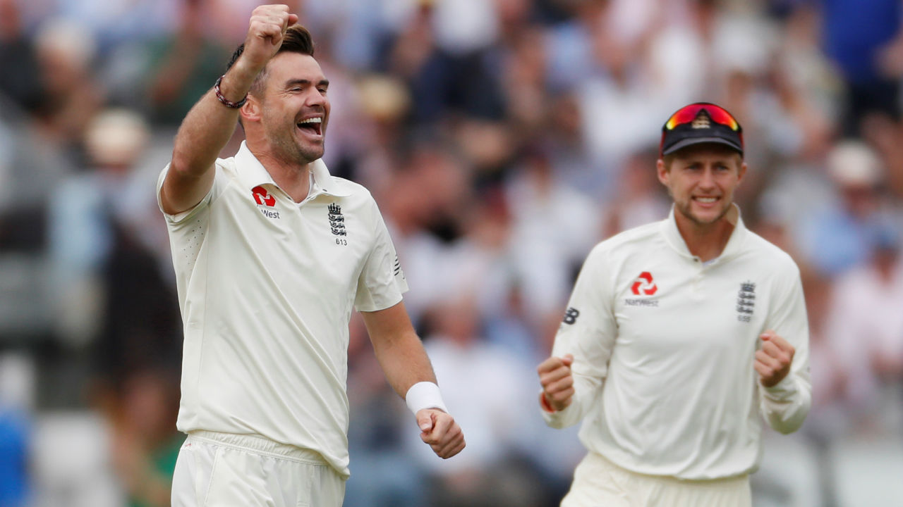 Anderson kept bowling a tight outside off stump line to the Indian batsmen and was soon rewarded with the wicket of the other Indian opener too. KL Rahul got a thin edge on an outswinging delivery allowing wicket keeper Jonny Bairstow to take an easy catch. (Image: Reuters)