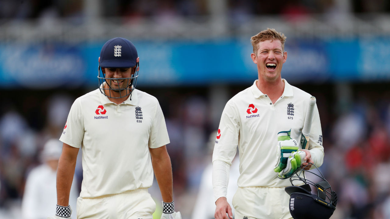 England openers Alastair Cook and Keaton Jennings survived the short blazing spell from Indian pacers. At Stumps they walked back to the pavilion with scoreboard reading 23/0. (Image - Reuters)
