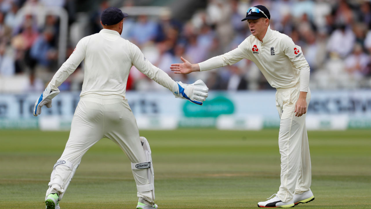 Luck favoured the England skipper Joe Root, as he won the toss and opted to field. The overcast conditions at Lord's were tailor-made for England's fast bowlers to get early wickets and pile the pressure on India. Indian skipper Virat Kohli said he would have also preferred to bowl first under the given conditions. (Image: Reuters)