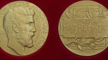 A calculated heist: Fields medal gets stolen minutes after professor wins it