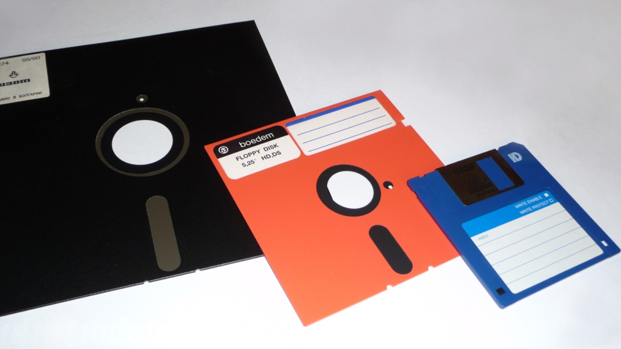 "The survey saw two-thirds of the children not knowing what a floppy disk is. Some of them only seem to remember it as the ubiquitous ""save"" icon. But floppies were all the rage till the mid-1990s before the advent of Compact disks (CDs). Close to 5 billion such floppy disks were sold across the globe to store data. In contrast, flash drives can now store 2 TB — which is 1.7 million times the storage size of a floppy disk. (Image: Wikimedia Commons)"