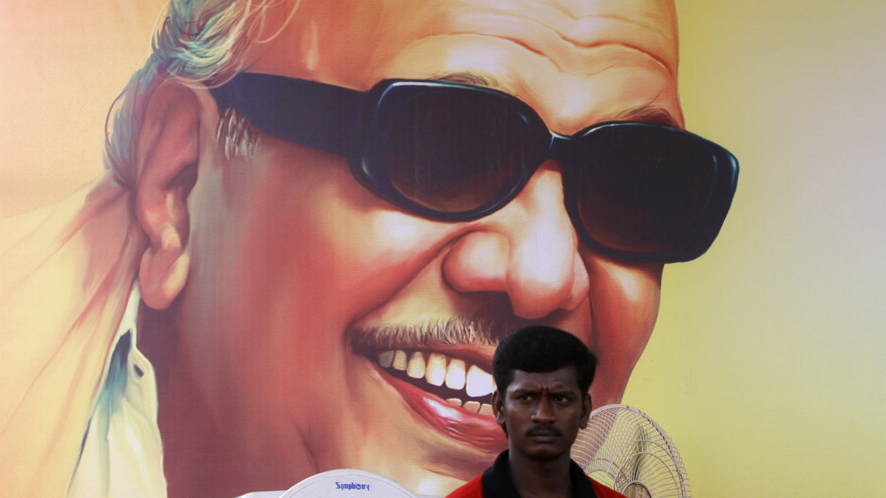 Karunanidhi's life in pictures: A revered artist, chief minister and kingmaker