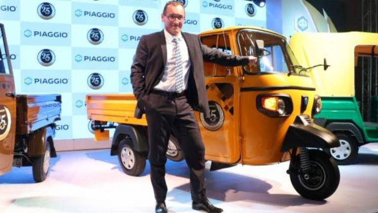 e957c6fb23a Piaggio lines up new investments, to launch electric three-wheeler ...