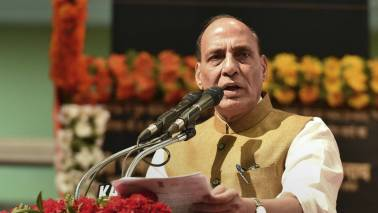 Ready to hold talks with anyone, but terror and dialogue cannot go together: Rajnath Singh