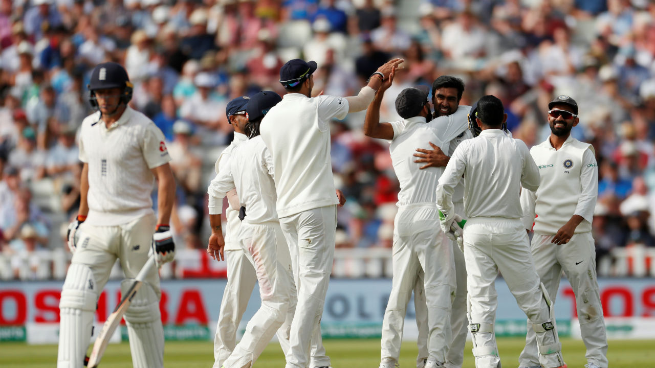 As India produced an English batting collapse, the hosts declined from 216/3 to 285/9. (Picture:Reuters)