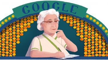 Google Doodle of the Day remembers writer Ismat Chughtai