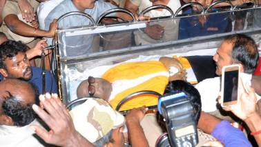 'Can I, just once, call you Appa?', Stalin says in poem penned for father Karunanidhi