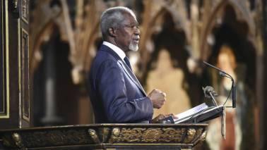 Former UN chief and Nobel Peace Prize winner Kofi Annan passes away