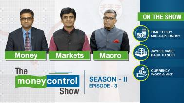The Moneycontrol Show | Investing in MidCap Funds, Jaypee Infra Case, Currency Woes & Market strategies