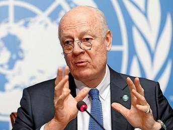 UN invites Iran, Russia, Turkey to talks on Syria next month