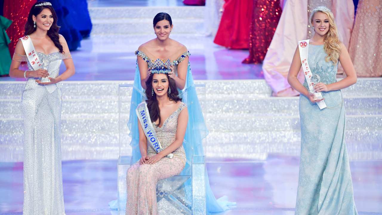 Manushi Chhillar | A medical student from Haryana's Rohtak, Chhillar won the Miss World 2017 crown to become the sixth Indian woman to do so. She was named in Times' Most Desirable Women of India 2017'. (Image: Reuters)