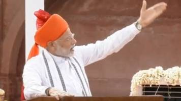 On August 15, Modi blends polls, policy and politics from Red Fort
