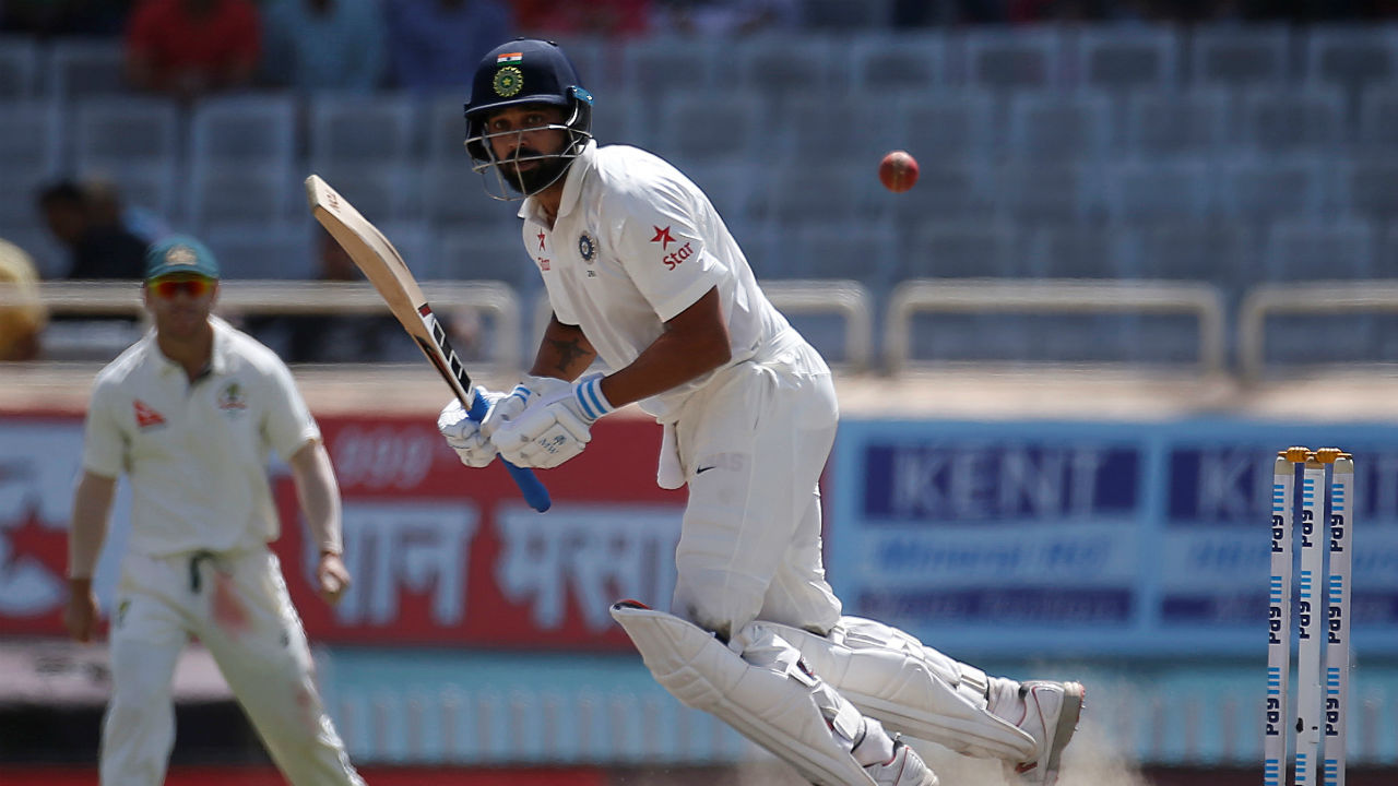 Murali Vijay | The opener managed just 20 and 6 runs in both innings before being caught LBW by Curran and Broad, respectively at Edgbaston. With the entire batting order barring skipper Kohli misfiring, there has been increasing clamour to tinker with the batting line-up. However, the Tamil Nadu batsmen is expected to feature and give the team a solid start. (Image: Reuters)