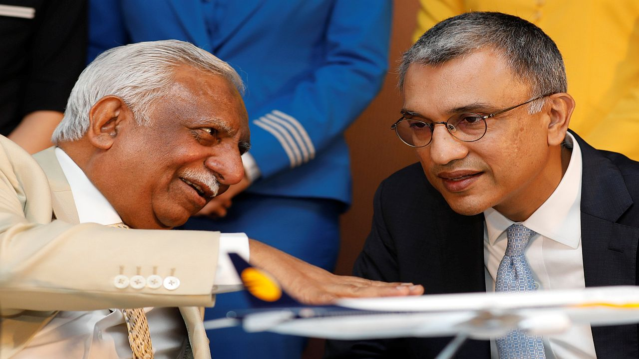 Lenders called for EOI while CEO Vinay Dube sought emergency funding. Lenders refuse to budge and the airline suspended operation till an investor is found. (Image: Reuters)