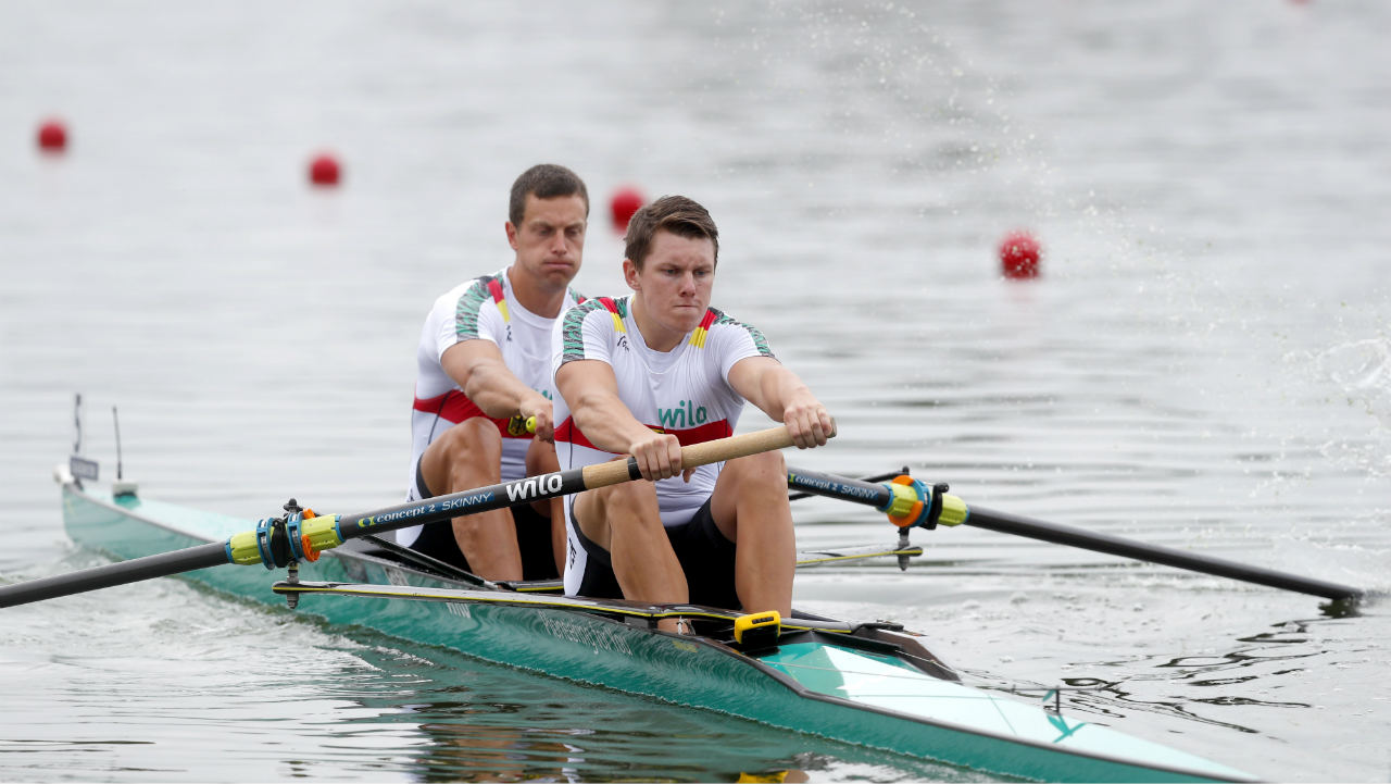 2018 European Championships - Rowing, Men's Pair Heat 2 - Strathclyde Country Park, Glasgow, Britain. (Photo: Reuters)