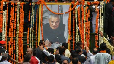 Highlights: Atal Bihari Vajpayee cremated with state honours, end of an era for Indian politics