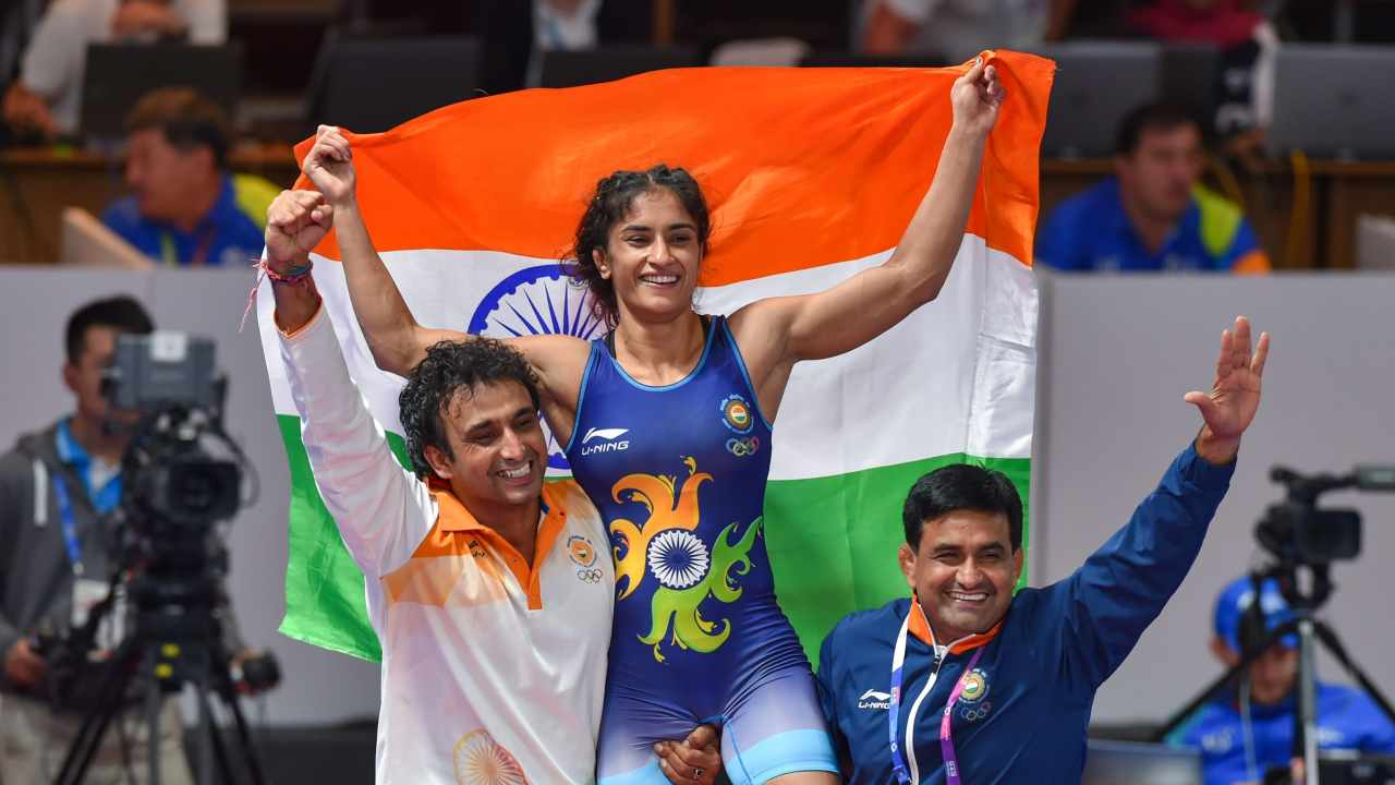 Vinesh Phogat | Women's 50 kg Freestyle | Gold (Image: PTI)
